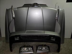 Alfa romeo 164 1992-1997 μετώπη-μούρη εμπρός κομπλέ ασημί