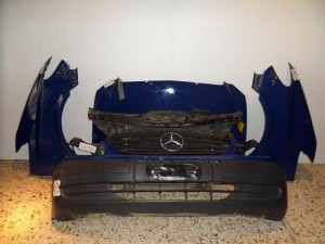 Mercedes vito w639 2004-2010 μετώπη εμπρός κομπλέ μπλέ