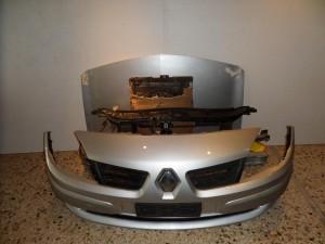 Renault Megane Cabrio 2003-2005 μετώπη εμπρός κομπλέ ασημί