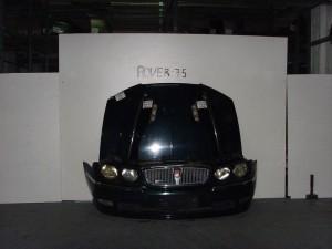 Rover 75 99 μετώπη εμπρός κομπλέ μαύρο