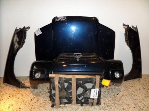 Subaru forester 04-07 μετώπη εμπρός κομπλέ μπλέ