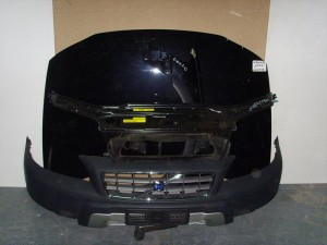 Volvo xc-70 Jeep 00-05 μετώπη εμπρός κομπλέ μαύρο