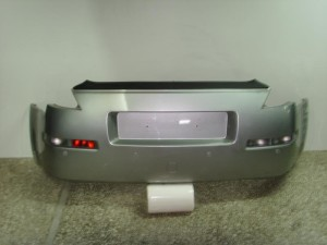 Nissan 350z 2003-2009 πίσω προφυλακτήρας ασημί