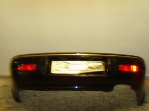 Chrysler stratus  4πορτο 95 πίσω προφυλακτήρας μαύρο