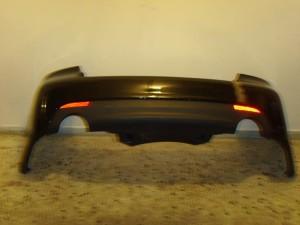 Opel Antara 2006-2011 πίσω προφυλακτήρας μαύρο