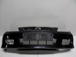 Mazda 323 2000-2003 προφυλακτήρας εμπρός μαύρος