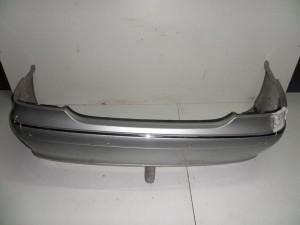 Mercedes cl w215 1999-2006 πίσω προφυλακτήρας ασημί