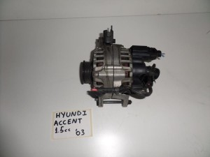 Hyundai accent 1.5cc 1999-2005 δυναμό