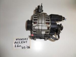 Hyundai accent 1.6cc 1999-2005 δυναμό