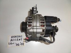 Hyundai accent 1.6cc 2006-2011 δυναμό