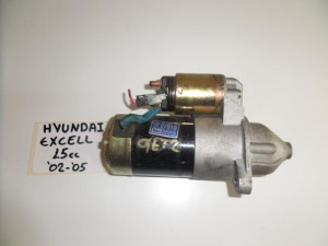 Hyundai excel 92 1.5cc diesel μίζα