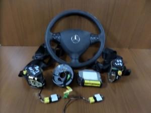 Mercedes w203 2θυρο 01-08 airbag μαύρο