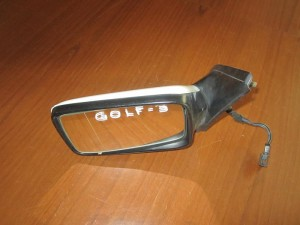VW golf 3 92-98 ηλεκτρικός καθρέπτης αριστερός άσπρος