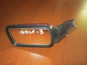 VW golf 3 92-98 ηλεκτρικός καθρέπτης αριστερός μπορντό