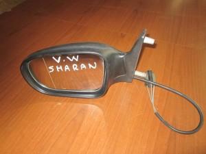 VW Sharan 2000-2010 Seat Alhambra 2000-2010 Ford Galaxy 2000-2006 μηχανικός καθρέπτης αριστερός άβαφος