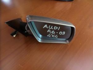 Audi A6 03 all road ηλεκτρικός ανακλινόμενος καθρέπτης δεξιός ασημί σκούρο (10 καλώδια)