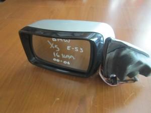 BME X5 E53 2000-2006 ηλεκτρικός ανακλινόμενος καθρέπτης αριστερός ασημί (16 καλώδια)