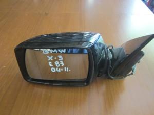 BMW X3 E83 2003-2010 ηλεκτρικός καθρέπτης αριστερός μπλέ σκούρο (5 καλώδια)