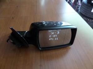 BMW X3 E83 2003-2010 ηλεκτρικός καθρέπτης δεξιός μαύρος (5 καλώδια)