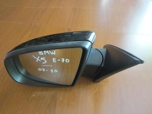 BMW X5 E70 2007-2013 ηλεκτρικός ανακλινόμενος καθρέπτης αριστερός μαύρος (3 ακίδες)