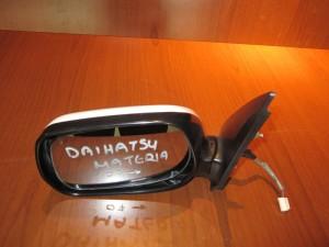 Daihatsu materia 2006-2011 ηλεκτρικός καθρέπτης αριστερός άσπρος (3 καλώδια)