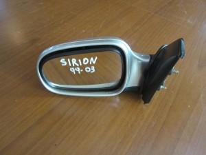 Daihatsu sirion 99-03 ηλεκτρικός καθρέπτης αριστερός ασημί (3 καλώδια)