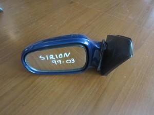 Daihatsu sirion 99-03 ηλεκτρικός καθρέπτης αριστερός σκούρο μπλέ (3 καλώδια)