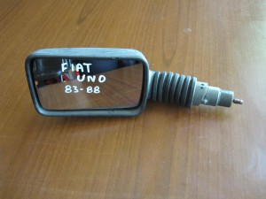 Fiat uno 83-88 μηχανικός καθρέπτης αριστερός άβαφος