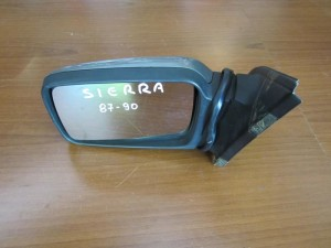 Ford siera 87-90 ηλεκτρικός καθρέπτης αριστερός σκούρο ασημί