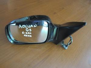 Gonow aoxuan G5 ηλεκτρικός ανακλινόμενος καθρέπτης αριστερός μαύρος (5 καλώδια-φλάς)