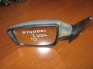 Hyundai IX20 2011 ηλεκτρικός καθρέπτης αριστερός ασημί (5 ακίδες)