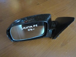 Hyundai santa fe 06 ηλεκτρικός καθρέπτης αριστερός μαύρος (5 ακίδες)