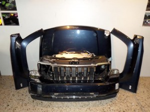 Jeep cherokee 2008-2013 μετώπη εμπρός κομπλέ μπλέ σκούρο