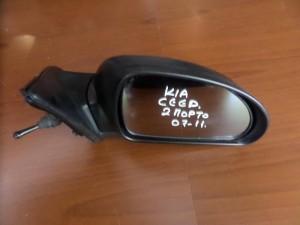 Kia ceed 07-11 2πορτο μηχανικός καθρέπτης δεξιός άβαφος