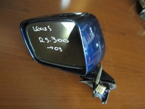 Lexus RS 300 03 ηλεκτρικός καθρέπτης αριστερός μπλέ (7 καλώδια)