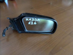 Mazda 626 88 μηχανικός καθρέπτης δεξιός μαύρος