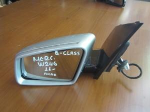 Mercedes B class w246 2011 καθρέπτης ηλεκτρικός ανακλινόμενος αριστερός ασημί