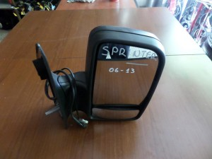 Mercedes sprinter 06-13 ηλεκτρικός καθρέπτης δεξιός άβαφος (9 καλώδια)