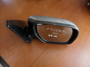 Mitsubishi Pajero 2θυρο 2007-2012 ηλεκτρικός καθρέπτης δεξιός ασημί (10 καλώδια-φλας)