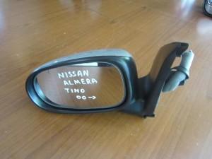 Nissan almera tino 2000 ηλεκτρικός καθρέπτης αριστερός ασημί