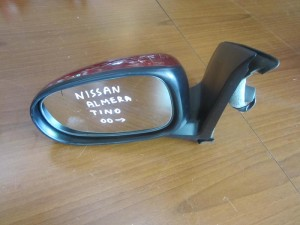 Nissan almera tino 2000 ηλεκτρικός καθρέπτης αριστερός μπορντό