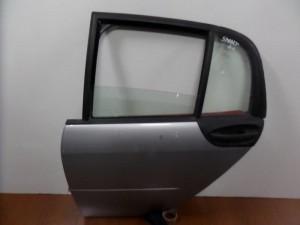 Smart Forfour 2004-2014 πίσω αριστερή πόρτα ασημί