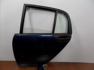 Smart Forfour 2004-2014 πίσω αριστερή πόρτα μπλέ