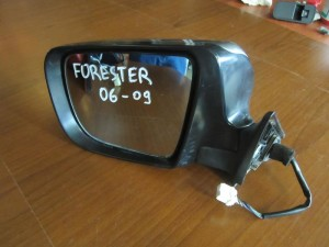Subaru forester 06-09 ηλεκτρικός ανακλινόμενος καθρέπτης αριστερός ασημί (8 καλώδια)