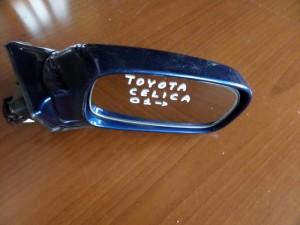 Toyota celica 01 ηλεκτρικός καθρέπτης δεξιός μπλέ