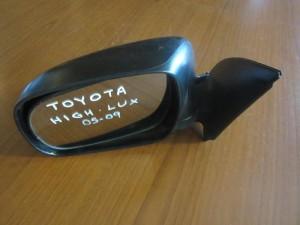 Toyota Hi-Lux 05-09 ηλεκτρικός καθρέπτης αριστερός άβαφος