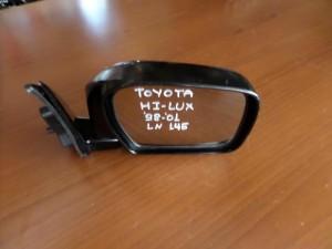 Toyota Hi-Lux 98-01 LN-145 καθρέπτης απλός δεξιός μαύρος