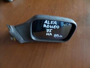Alfa romeo 75 1989-1992 ηλεκτρικός καθρέπτης δεξιός άβαφος