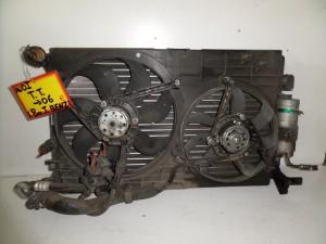 Audi TT -06 1.8cc turbo βενζίνη ψυγείο κομπλέ (νερού-air condition-διπλό βεντιλατέρ)