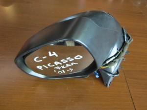 Citroen C4 Picasso 2007-2013 ηλεκτρικός καθρέπτης αριστερός γκρί (7 καλώδια-πλαίσιο ματ)